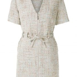 Olympiah knitted belted playsuit - Neutrals