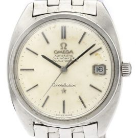 Omega Constellation Automatic Stainless Steel Men's Dress Watch 168.017, Silver