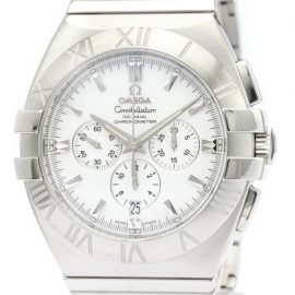 Omega Constellation Automatic Stainless Steel Men's Sports Watch 1514.20, White