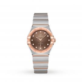 Omega Constellation Manhattan 28mm Ladies Watch O13120286063001