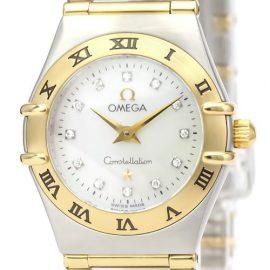 Omega Constellation Quartz Stainless Steel,Yellow Gold [18K] Women's Dress Watch 1262.75, Gold