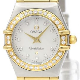 Omega Constellation Quartz Stainless Steel,Yellow Gold [18K] Women's Dress Watch 1267.75, Gold