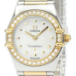 Omega Constellation Quartz Stainless Steel,Yellow Gold [18K] Women's Dress Watch 1365.71, Gold
