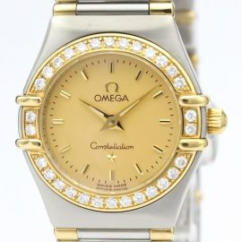 Omega Constellation Quartz Stainless Steel,Yellow Gold [18K] Women's Dress Watch 1367.10, Gold