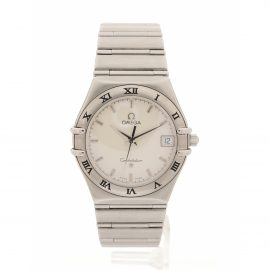 Omega Constellation Silver Steel Watch for Women