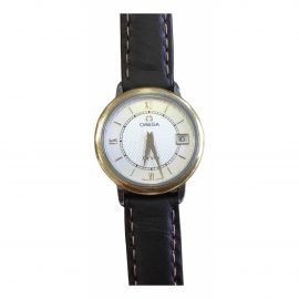 Omega De Ville Gold gold and steel Watch for Women
