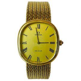 Omega De Ville silver gilt watch - Gold, Gold