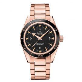 Omega Seamaster 300 Men's Rose Gold Bracelet Watch