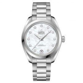 Omega Seamaster Aqua Terra Ladies Diamond Bracelet Watch