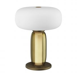 One on One Table Lamp - Burnished Brass
