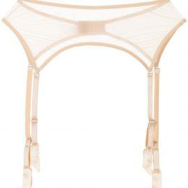 PETRA suspender garter belt - Neutrals