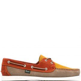 Paraboot Barth colour-block shoes - Orange