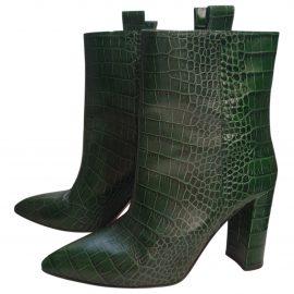 Paris Texas Leather cowboy boots