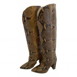 Paris Texas Leather riding boots