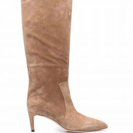 Paris Texas knee-high 70mm boots - Brown