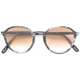 Persol round frame sunglasses - Black