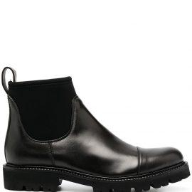 Peserico sock-style Chelsea boots - Black