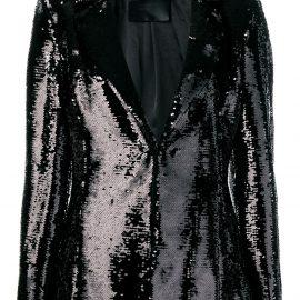 Philipp Plein sequin embellished blazer - Black