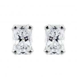 Phoenix Cut 18ct White Gold 0.63ct Diamond Stud Earrings