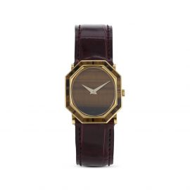 Piaget 1970 pre-owned mechanical 25mm - Brown