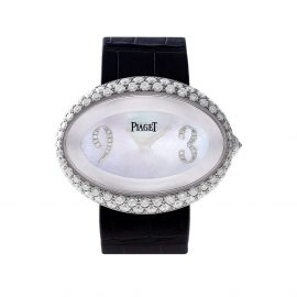 Piaget 2000 pre-owned Piaget 40mm - WHITE