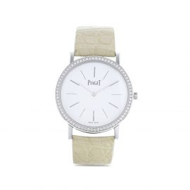 Piaget 2010 pre-owned Altiplao 34mm - White