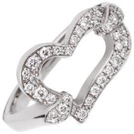 Piaget Coeur Piaget white gold ring