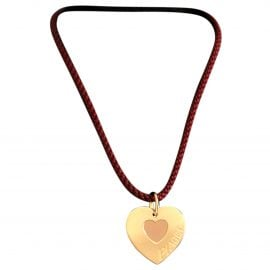 Piaget Coeur Piaget yellow gold necklace