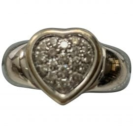 Piaget N Silver White gold Ring for Women
