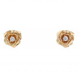 Piaget Piaget Rose yellow gold earrings