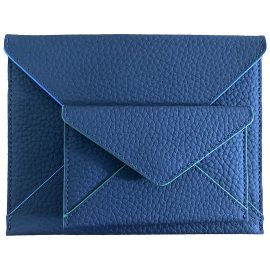 Piaget blue Leather Small Bags, Wallets & Cases