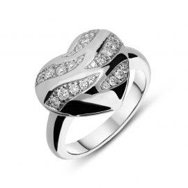Picchiotti 18ct White Gold 0.35 Carat Diamond Heart Ring