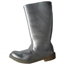 Pierre Hardy Leather snow boots