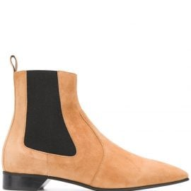 Pierre Hardy chelsea ankle boots - Neutrals