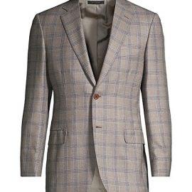 Plaid Wool Sport Jacket