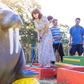 Plonk Crazy Golf for a Family of Four