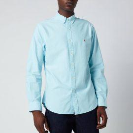 Polo Ralph Lauren Men's Slim Fit Oxford Shirt - Aegean Blue