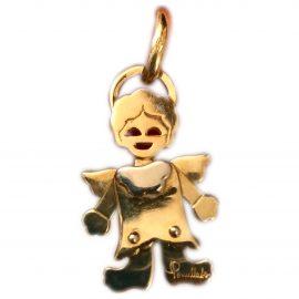 Pomellato Orsetto yellow gold pendant