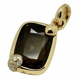 Pomellato Ritratto pink gold pendant