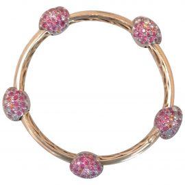 Pomellato Tango pink gold bracelet