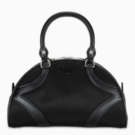 Prada Black Bowling tote bag