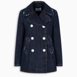 Prada Denim double-breasted jacket