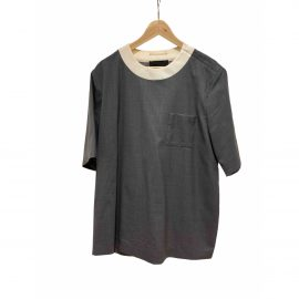Prada Grey Synthetic T-shirt
