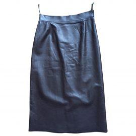 Prada Leather Pencil Skirt