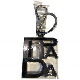 Prada N Black Metal Bag charms for Women