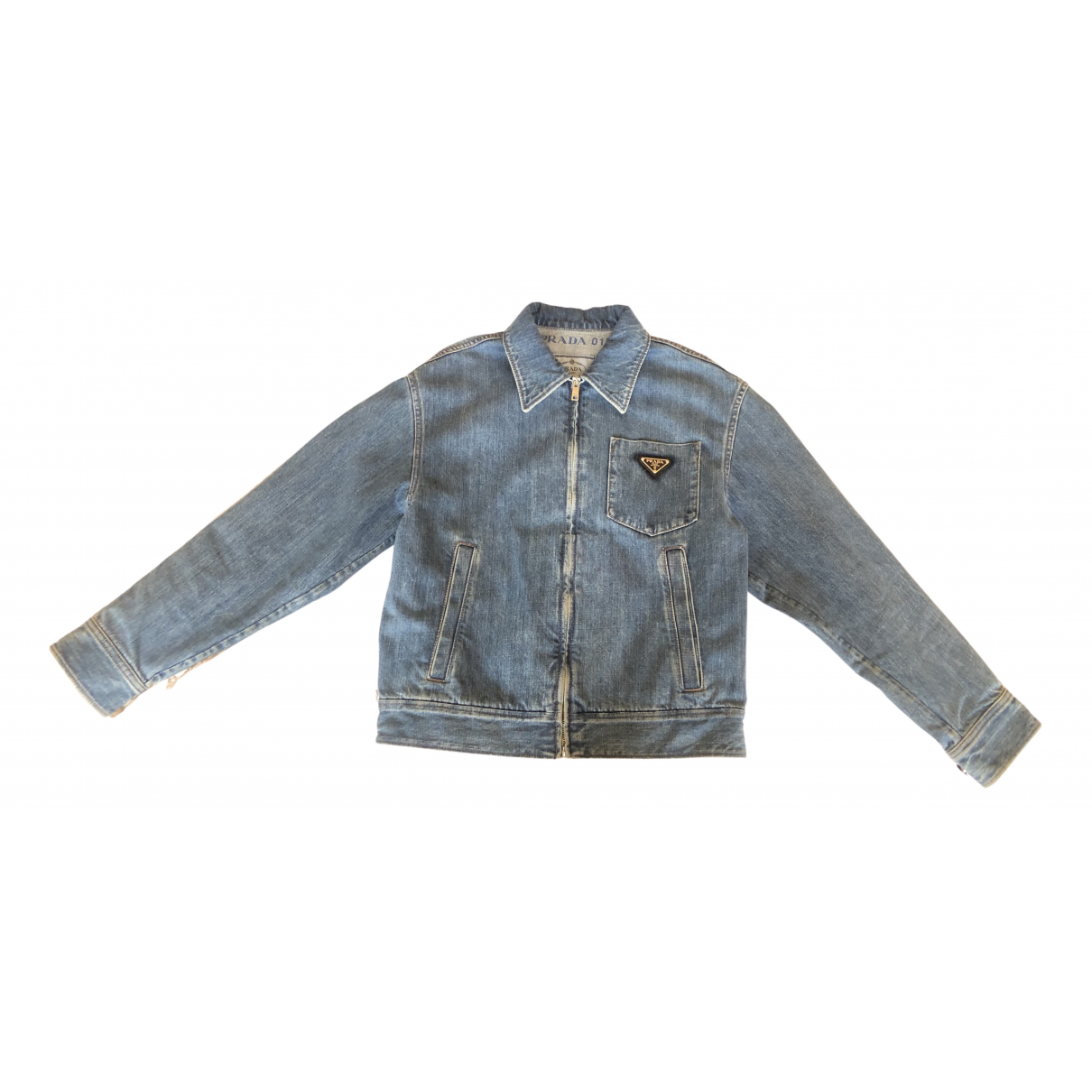 Prada N Blue Denim - Jeans Jacket for Women