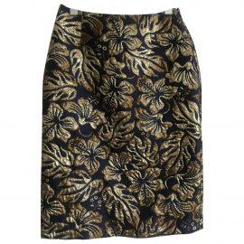 Prada N Gold Skirt for Women