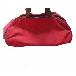 Prada N Red Travel Bag for Women