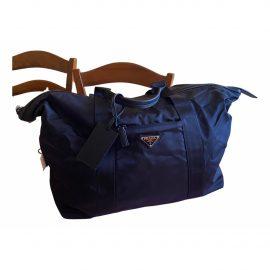Prada Re-Nylon Blue Travel Bag for Women