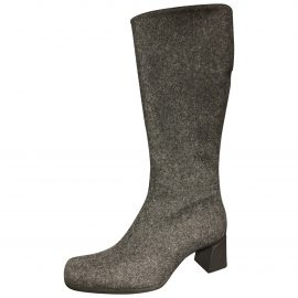 Prada Tweed riding boots